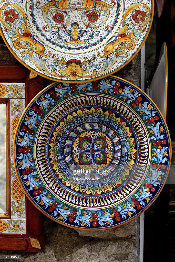 Ceramic Handpainted Plates Italy