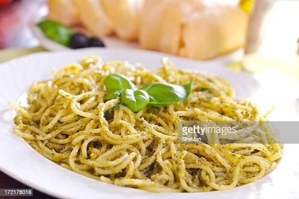 Spaghettis au pistou