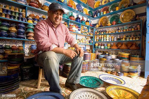 Ceramics Shop in Essaouira