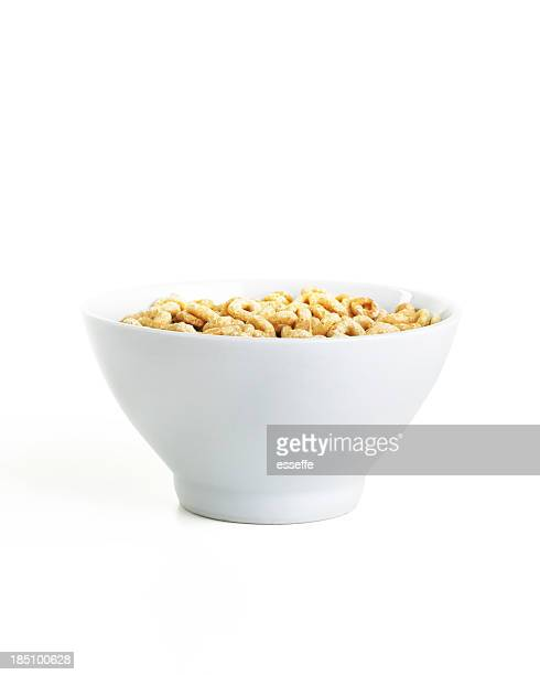 cereal bowl isolated on white