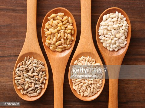 Cereals and spoons