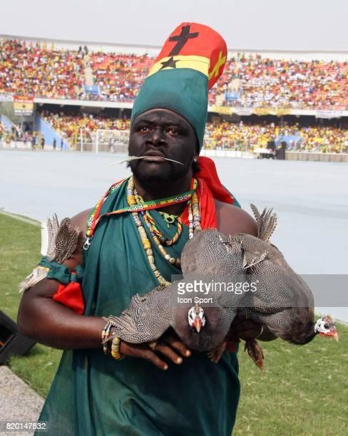 Ceremonie d'Ouverture Homme Poulet Ghana / Guinee Match d Ouverure de la CAN 2008 Coupe d'Afrique des Nations Ghana