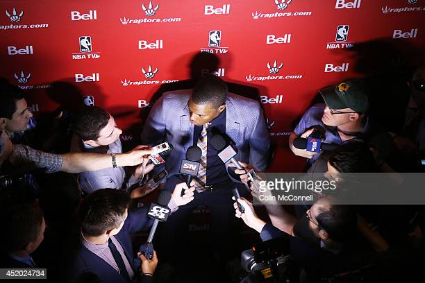 A ceremony and news presser was held today in the Real Sports Bar and Grill in Maple leaf Square with fans in attendance for a news conference with...