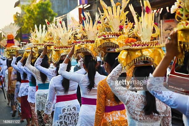 Ceremony in Ubud.