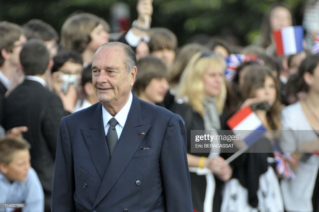 Ceremony marking the 70th anniversary of 1940 radio appeal in Suresnes, France On June 18, 2010-French President <a gi-track='captionPersonalityLinkClicked' href=/galleries/search?phrase=Nicolas+Sarkozy&family=editorial&specificpeople=211375 ng-click='$event.stopPropagation()'>Nicolas Sarkozy</a> attends a ceremony marking the 70th anniversary of 1940 radio appeal to France to resist German occupation by General Charles de Gaulle at the Mont Valerien, Suresnes.