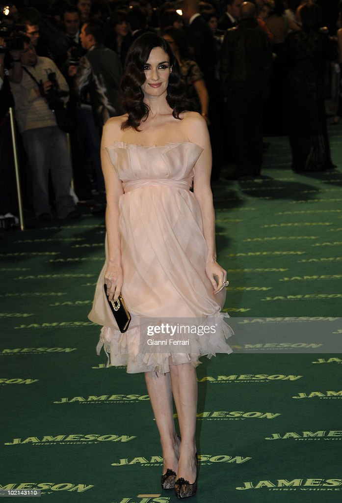 Ceremony of delivery of the cinematographic prizes 'Goya 2009', the actress Paz Vega, First February 2009, 'Palacio Municipal de Congresos', Madrid, Spain,.