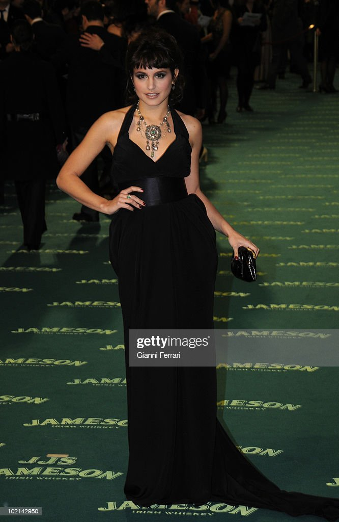 Ceremony of delivery of the cinematographic prizes 'Goya 2009', the actress Veronica Echegui, First February 2009, 'Palacio Municipal de Congresos', Madrid, Spain,.