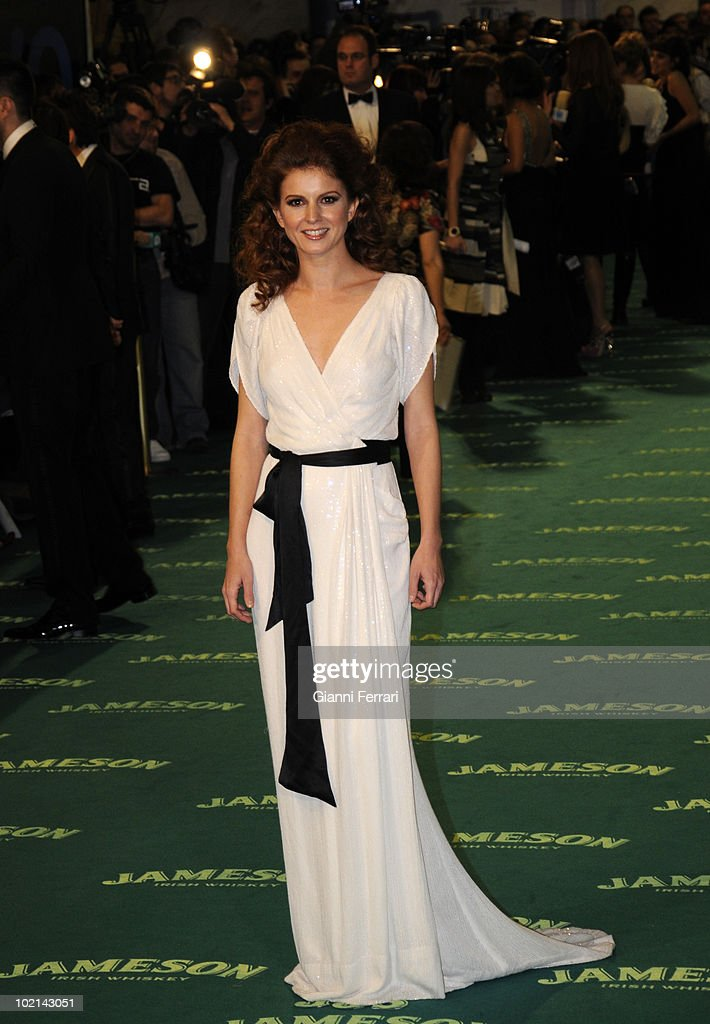 Ceremony of delivery of the cinematographic prizes 'Goya 2009', the actress Mariam Aguilera, First February 2009, 'Palacio Municipal de Congresos', Madrid, Spain,.