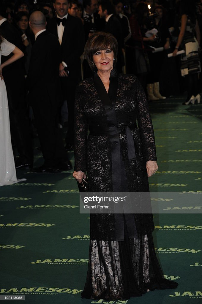 Ceremony of delivery of the cinematographic prizes 'Goya 2009', the actress Concha Velasco, First February 2009, 'Palacio Municipal de Congresos', Madrid, Spain,.