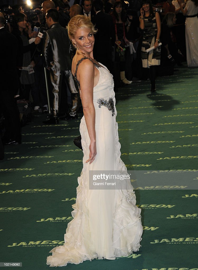 Ceremony of delivery of the cinematographic prizes 'Goya 2009', the actress Belen Rueda, First February 2009, 'Palacio Municipal de Congresos', Madrid, Spain,.