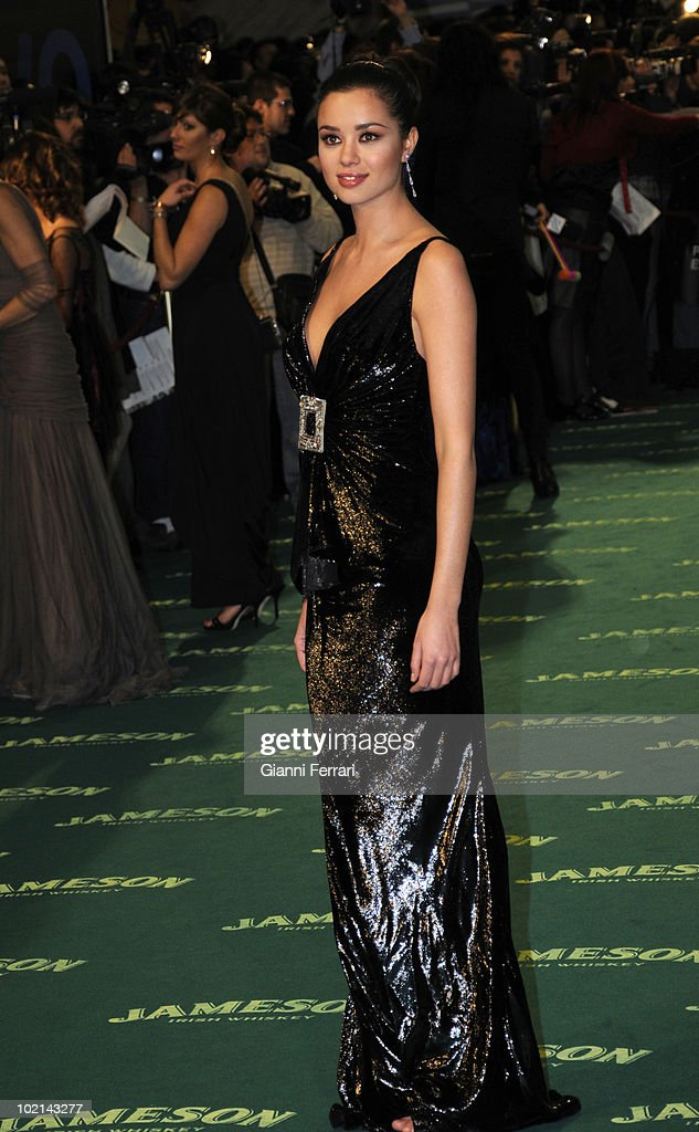 Ceremony of delivery of the cinematographic prizes 'Goya 2009', the actress Dafne Fernandez, First February 2009, 'Palacio Municipal de Congresos', Madrid, Spain,.