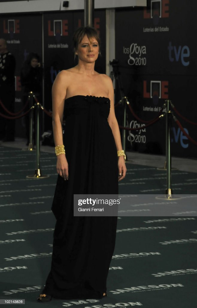 Ceremony of delivery of the cinematographic prizes 'Goya 2010', the actress Emma Suarez, 14th February 2010, 'Palacio Municipal de Congresos', Madrid, Spain.