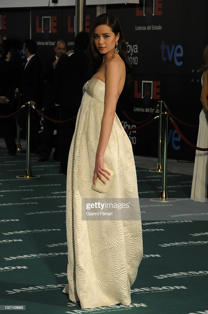 Ceremony of delivery of the cinematographic prizes 'Goya 2010', the actress Dafne Fernandez, 14th February 2010, 'Palacio Municipal de Congresos', Madrid, Spain.
