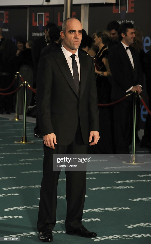 Ceremony of delivery of the cinematographic prizes 'Goya 2010', the director Luis Tosar, 14th February 2010, 'Palacio Municipal de Congresos', Madrid, Spain.