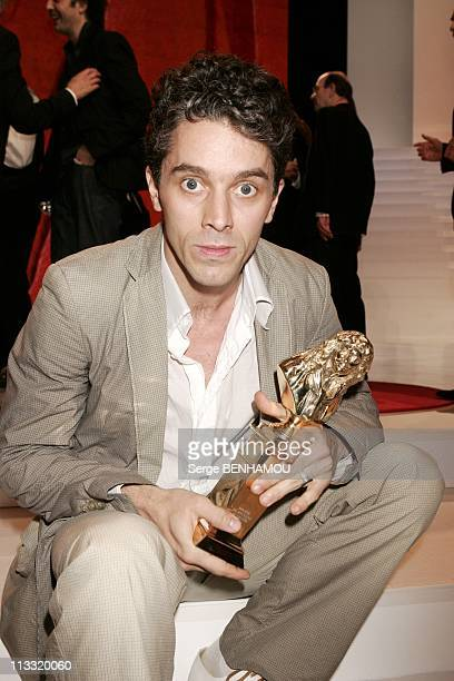 Ceremony Of The Molieres 2006 At The Theater Mogador On April 24Th 2006 In Paris France Here James Thierree Little Son Of Charlie Chaplin Obtains 3...