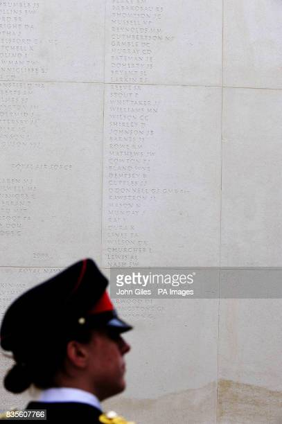 A ceremony to unveil the names of 67 members of the Armed Forces who were killed on duty or as a result of terrorism during 2008 who have been added...