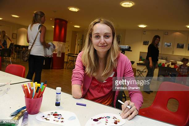 Cerrie Burnell attends a photocall at The Foundling Museum on August 29 2009 in London England