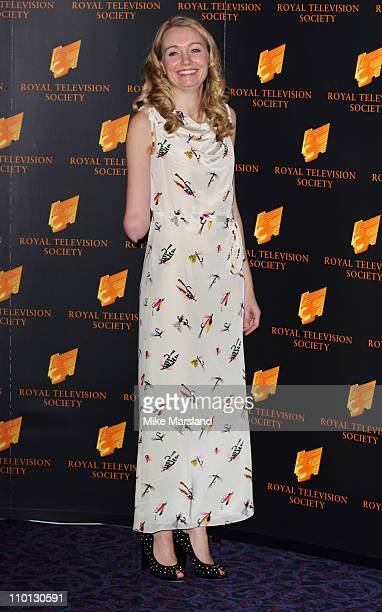 Cerrie Burnell attends RTS Programme Awards at The Grosvenor House Hotel on March 15 2011 in London England