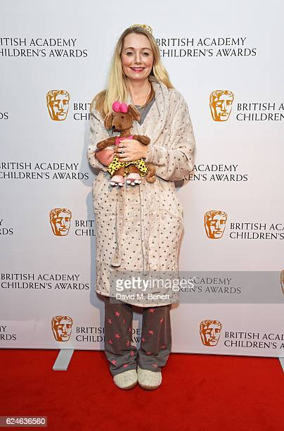 Cerrie Burnell attends the BAFTA Children's Awards at The Roundhouse on November 20 2016 in London England