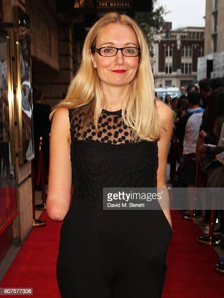 Cerrie Burnell attends the National Youth Theatre's 60th Anniversary Gala 'The Story Of Our Youth At 60' at The Shaftesbury Theatre on September 18...