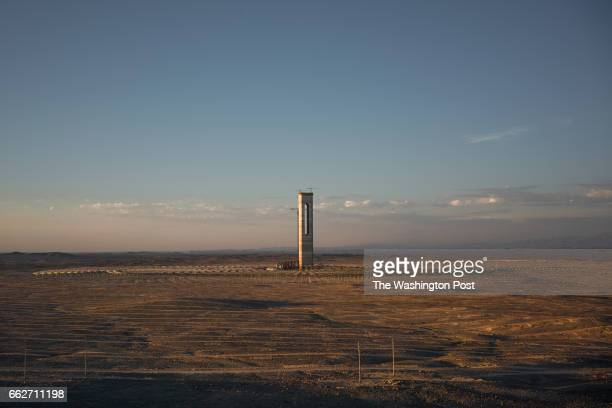 CALAMA CHILE MARCH 8 Cerro Dominador is a molten salt solar thermal tower situated in the Atacama Desert It belongs to the Cerro Dominador project...