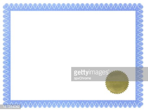 Certificate of Achievement with Seal