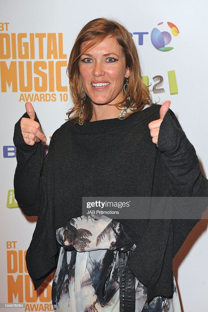 Cerys Mattews attends the 'BT Digital Music Awards' at The Roundhouse on September 30 2010 in London England