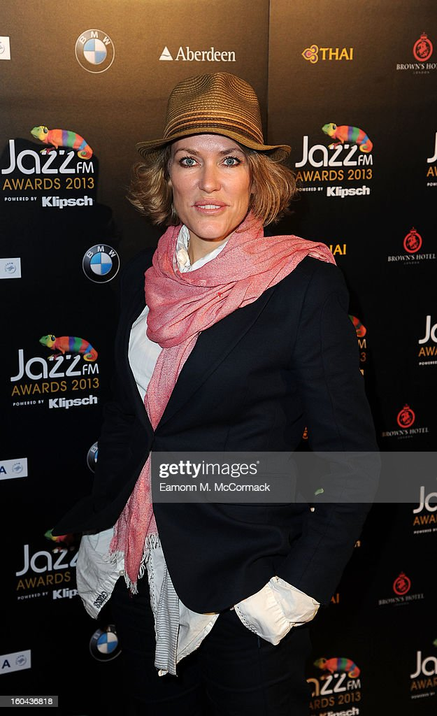 Cerys Matthews attends the Jazz FM Awards at One Marylebone on January 31, 2013 in London, England.