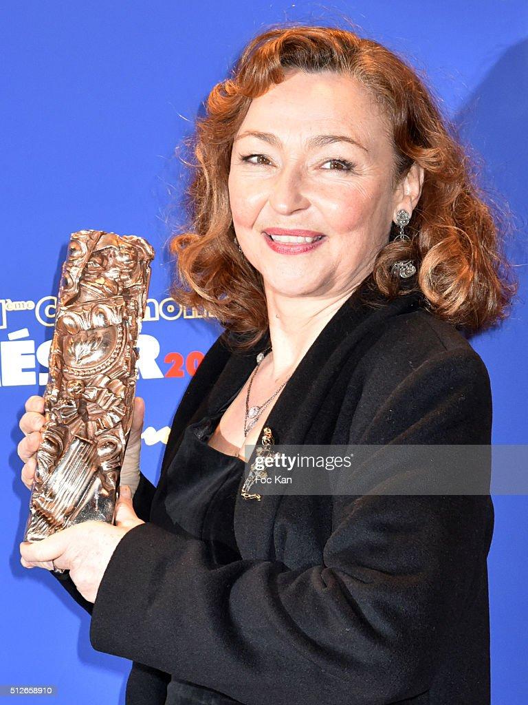 Dinner At Le Fouquet's : Outside Arrivals  -  Cesar Film Awards 2016