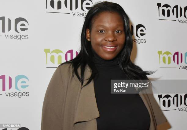 Cesar 2017 awarded Actress Deborah Lukumuena attends the 1000 Visages' Celebrates Its 10th Anniversary At Theatre Du Gymnase on February 27 2017 in...