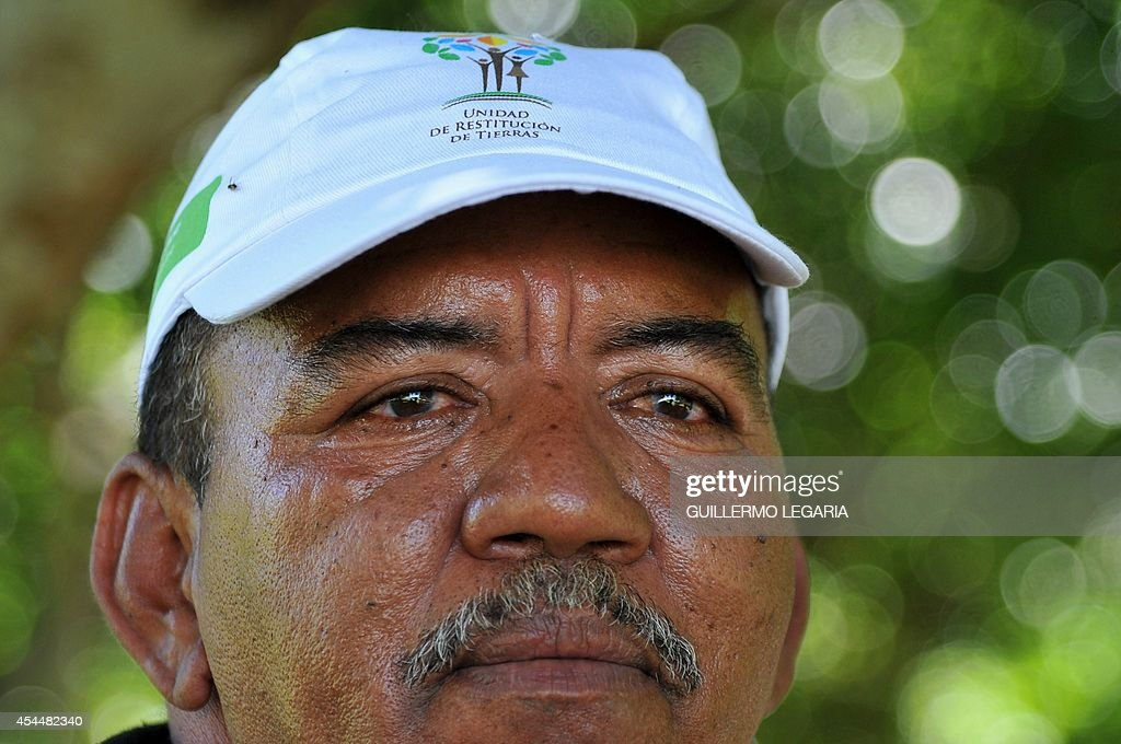 <b>Cesar Augusto</b> Escorcia looks on during an interview with AFP at his farm ... - cesar-augusto-escorcia-looks-on-during-an-interview-with-afp-at-his-picture-id454482340