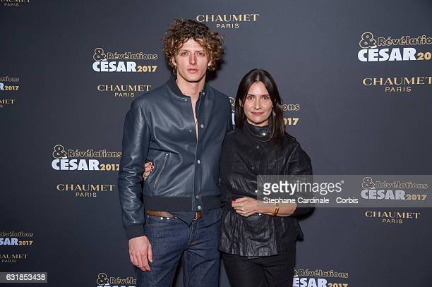 Cesar Chouraqui and Geraldine Pailhas attend the 'Cesar Revelations 2017' on January 16 2017 in Paris France