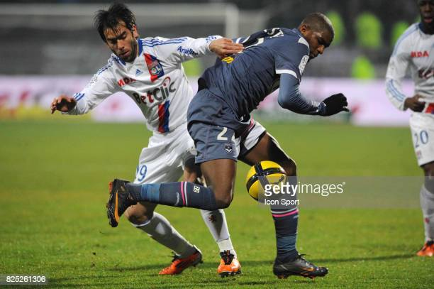 Cesar DELGADO / Anthony MODESTE Lyon / Bordeaux 22e journee de Ligue 1