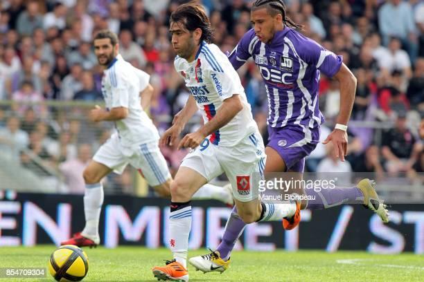 Cesar Delgado / Etienne Capoue Toulouse / Lyon 33eme journee de Ligue 1