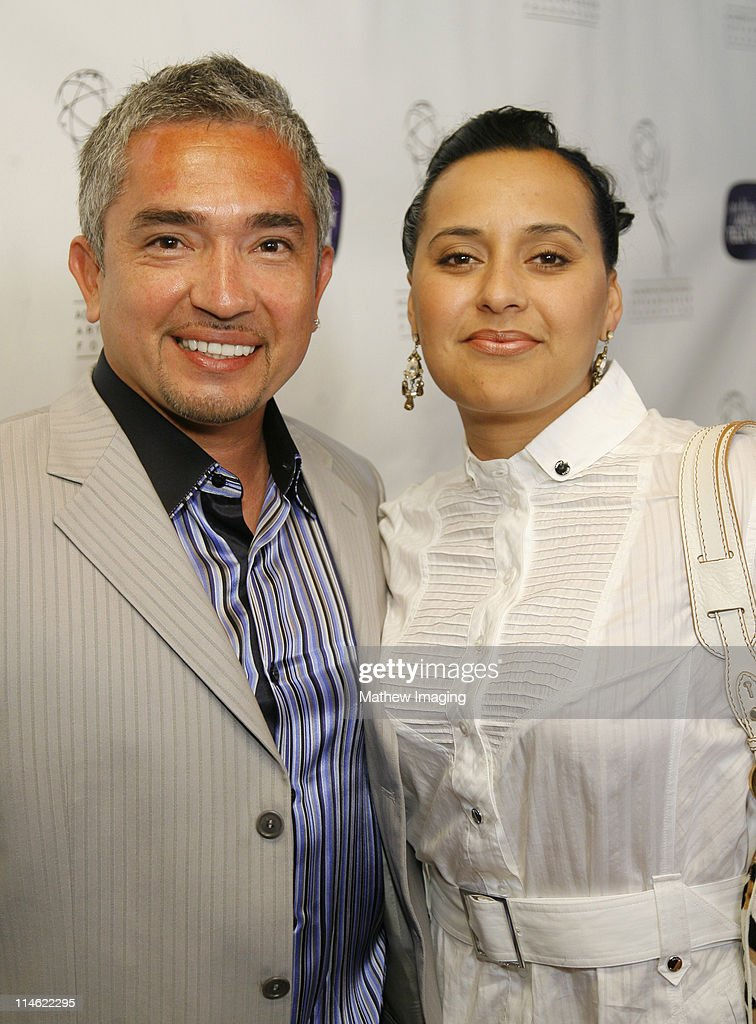 Cesar Millan and Ilusion during 10th Anniversary of The Archive of American TV Red Carpet and Inside at Crustacean in Beverly Hills California United...