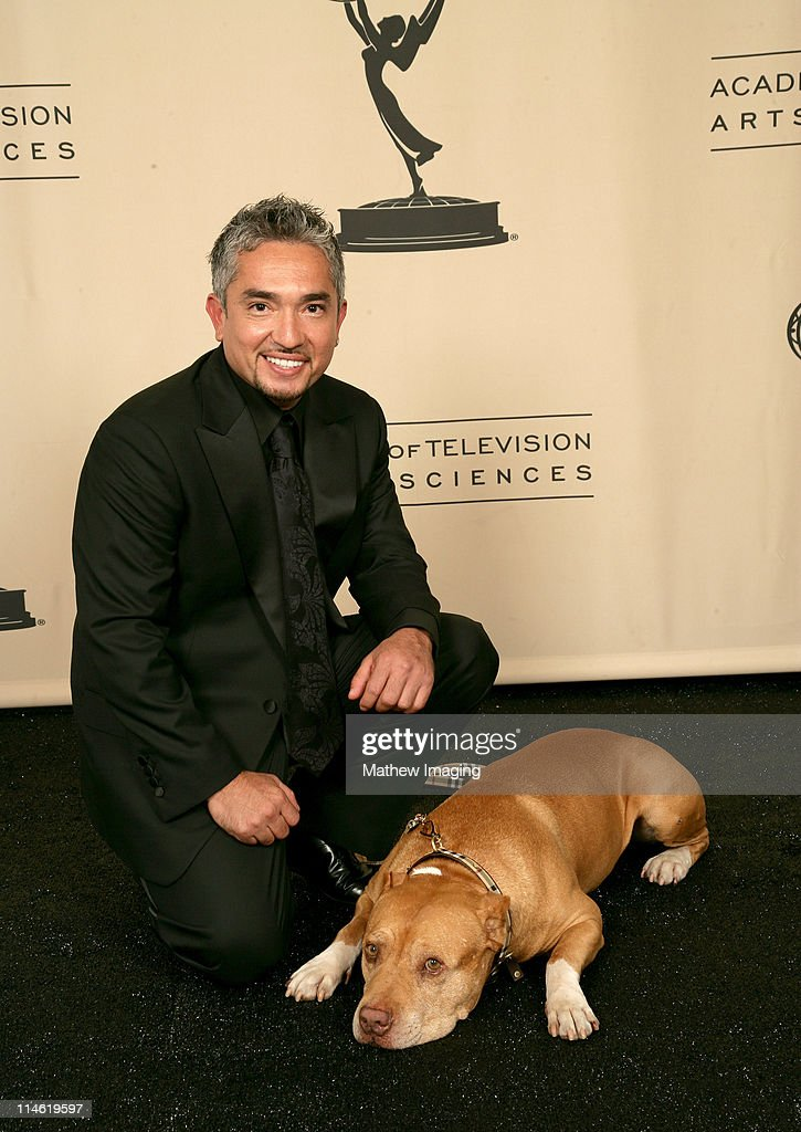Cesar Millan during 58th Annual Creative Arts Emmy Awards Photo Gallery at The Shrine Auditorium in Los Angeles California United States