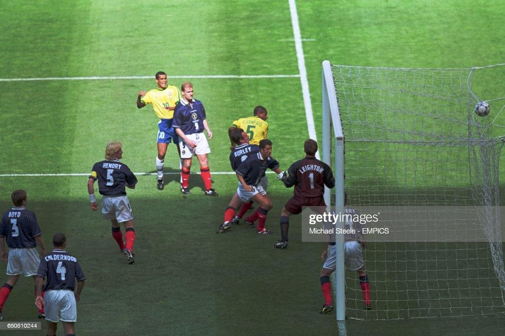 Image result for cesar sampaio goal vs scotland