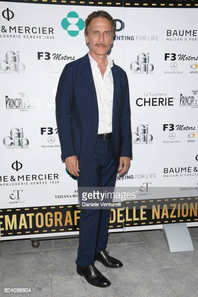 Cesare Bocci attends Nations Award gala dinner on July 28 2017 in Taormina Italy