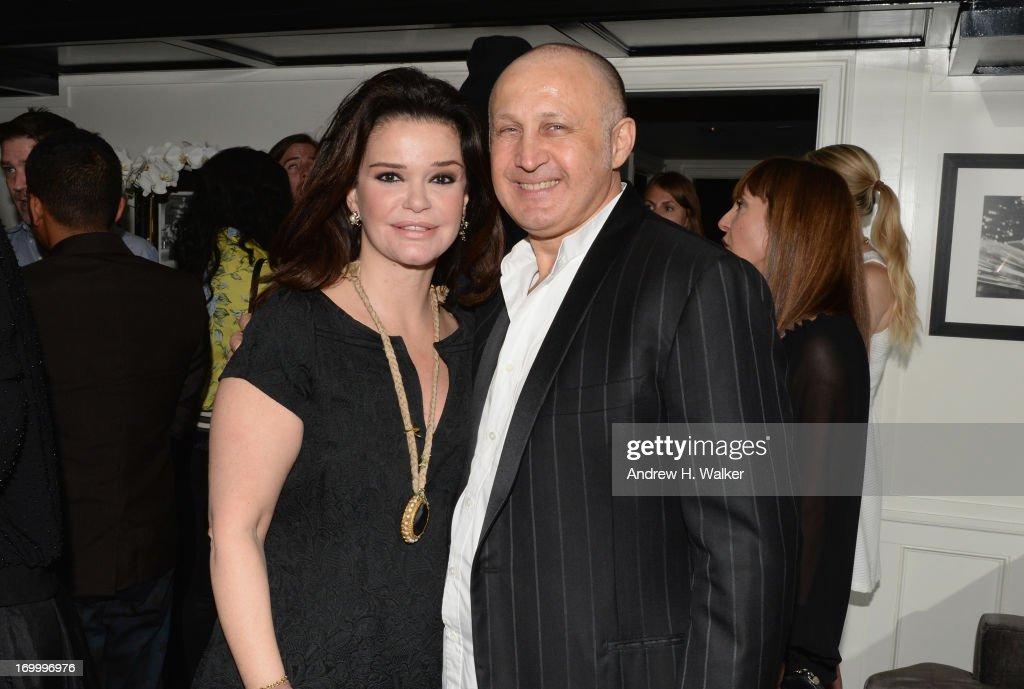 Cesare Casadei (R) attends Casadei dinner at Omar's, hosted by Julia Restoin Roitfeld and Cesare Casadei celebrating Resort 2014 at on June 5, 2013 in New York City