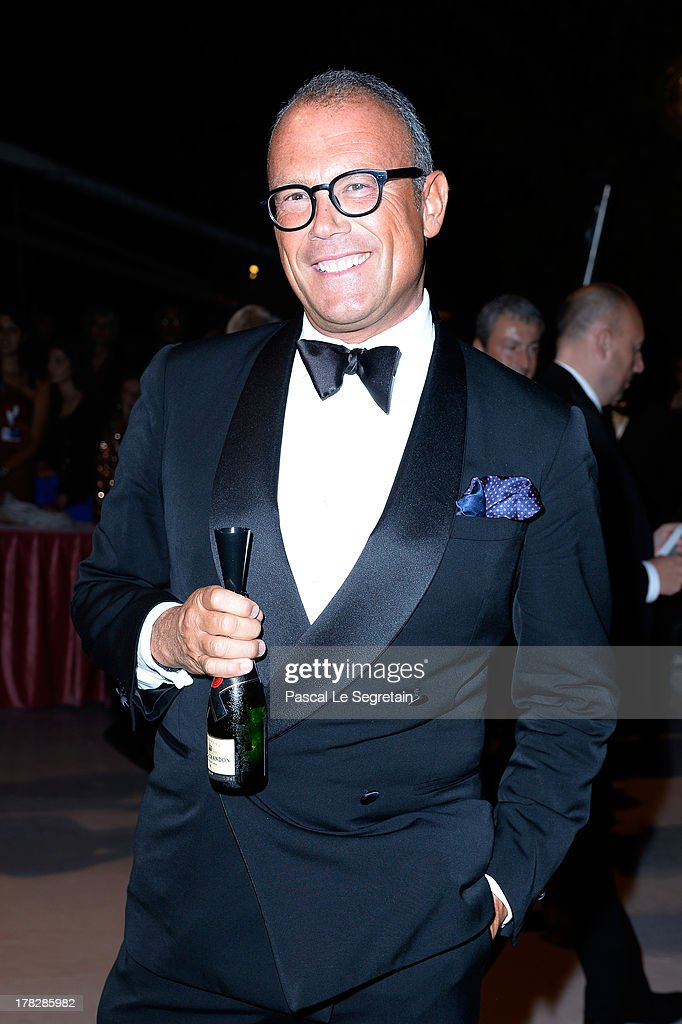 Cesare Cunaccia attends the Opening Dinner Arrivals during the 70th Venice International Film Festival at the Hotel Excelsior on August 28, 2013 in Venice, Italy.