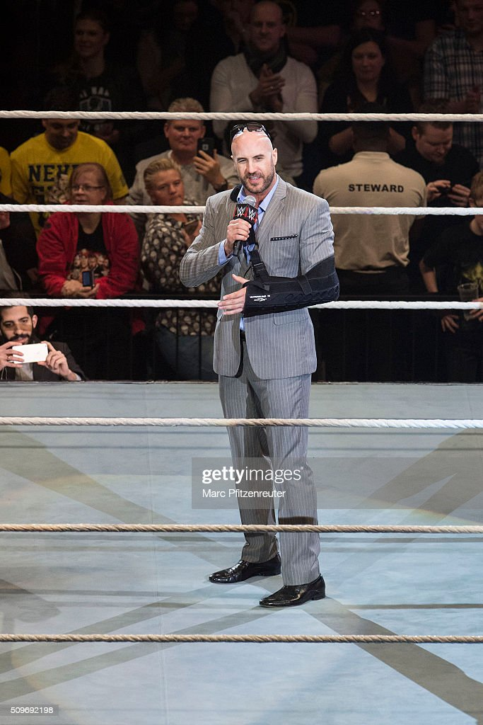 Cesaro during WWE Road to WrestleMania at the Lanxess Arena on February 11, 2016 in Cologne, Germany.