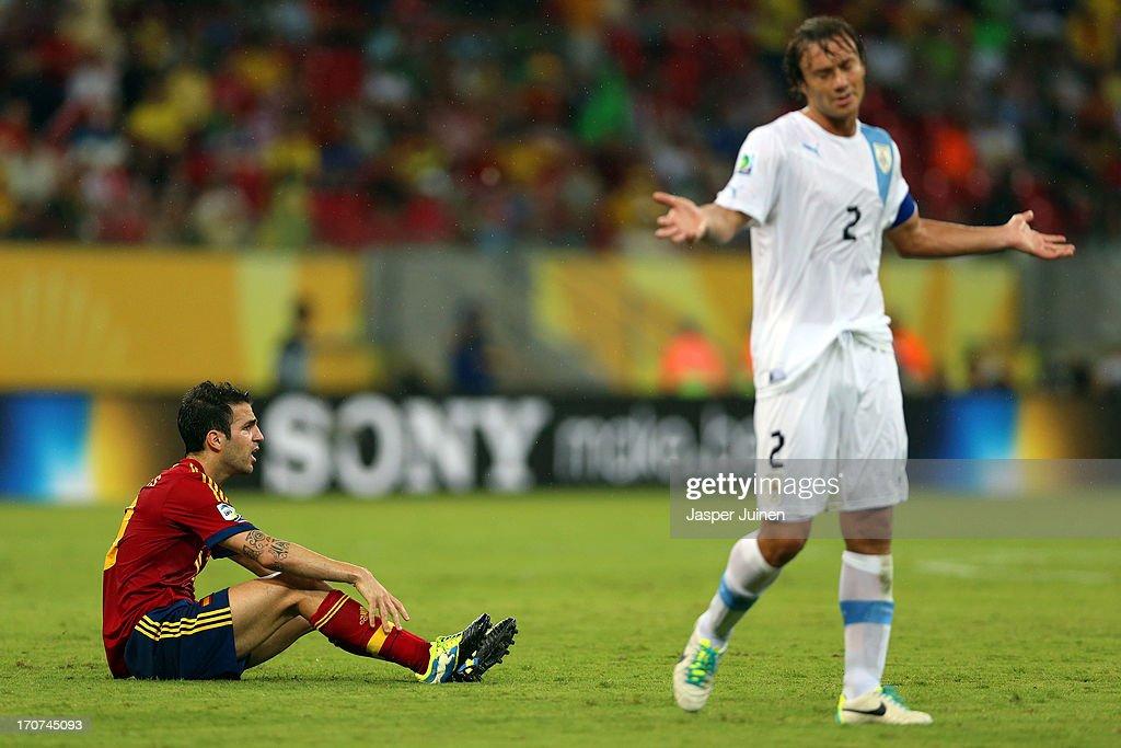 Spain v Uruguay: Group B - FIFA Confederations Cup Brazil 2013