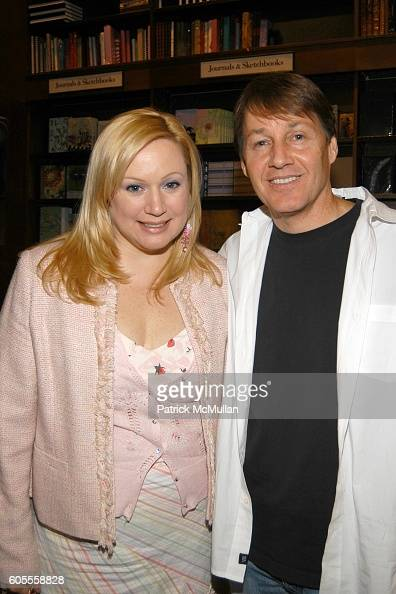 Ceslie Armstrong and Greg Baumer attend Patrick McMullan Book Signing at Barnes and Noble Astor Place on May 25 2006 in New York City