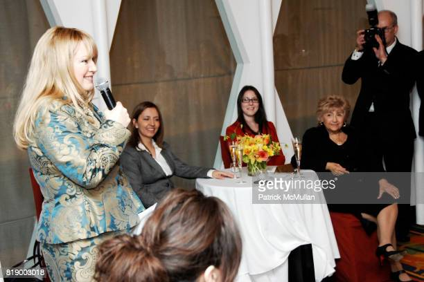 Ceslie Armstrong Gila GamlielDemri Ariana Heideman and Barbara Nudelman attend MOMENTUM WOMEN Honor Gila GamlielDemri hosted by Ceslie Armstrong...
