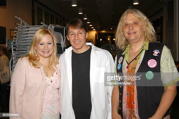 Ceslie Armstrong Greg Baumer and attend Patrick McMullan Book Signing at Barnes and Noble Astor Place on May 25 2006 in New York City