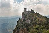 Castello della Cesta or Cesta tower, one of three fortress of San Marino.