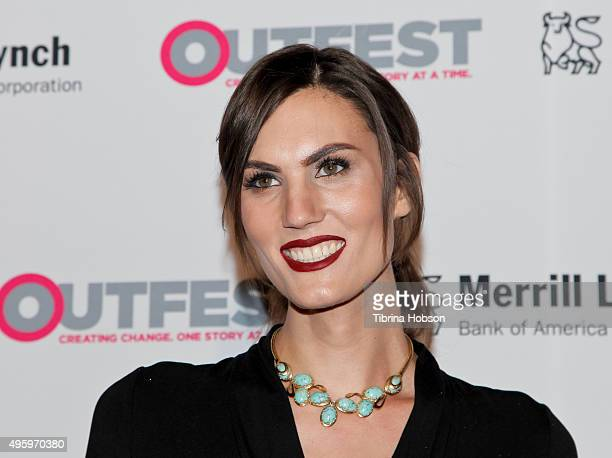 Cetine attends the 2015 Outfest Legacy Awards at Vibiana on November 5 2015 in Los Angeles California