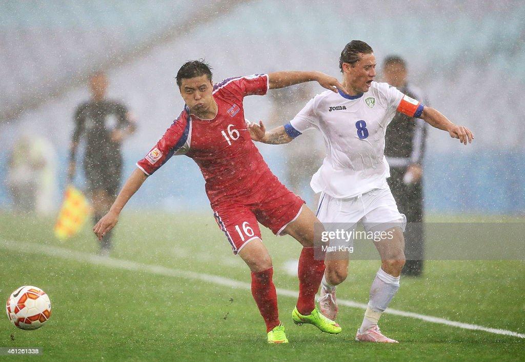 Uzbekistan v DPR Korea - 2015 Asian Cup