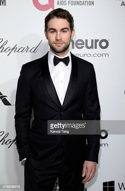 Chace Crawford arrives for the 22nd Annual Elton John AIDS Foundation's Oscar Viewing Party held at West Hollywood Park on March 2 2014 in West...