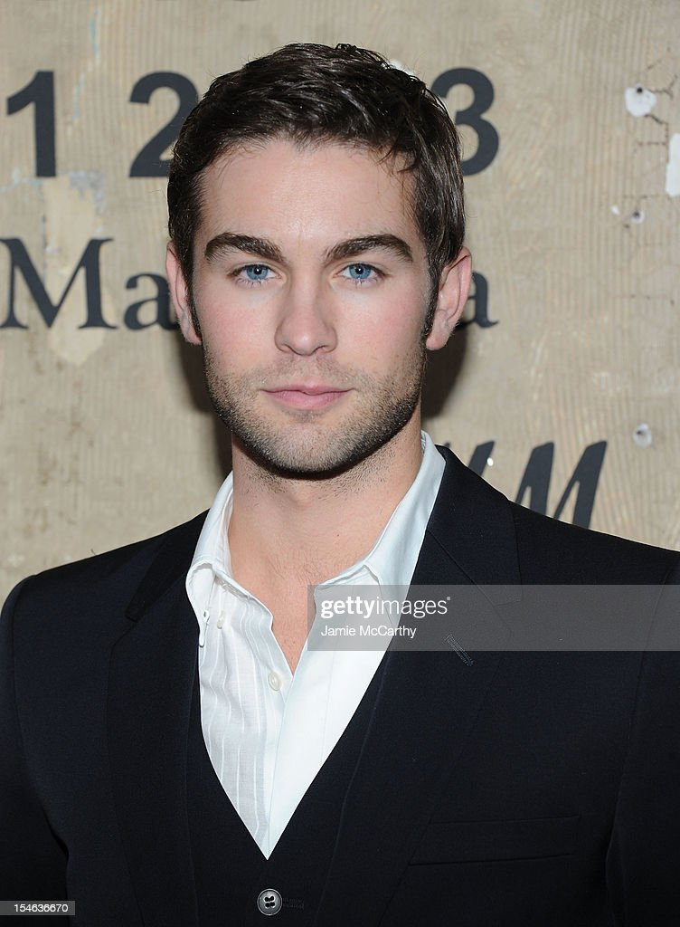 <a gi-track='captionPersonalityLinkClicked' href=/galleries/search?phrase=Chace+Crawford&family=editorial&specificpeople=4238517 ng-click='$event.stopPropagation()'>Chace Crawford</a> attends the Maison Martin Margiela with H&M global launch event at 5 Beekman on October 23, 2012 in New York City.